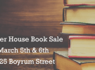 Annual Shelter House Book Sale 2016